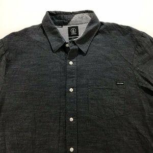 Volcom Mens Button Front Shirt